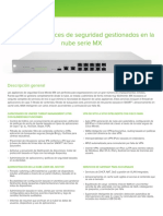 Mx Datasheet Spanish