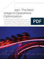 Digital Lean-The Next Stage in Operations Optimization