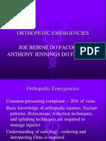 20 Orthopedic Emergencies