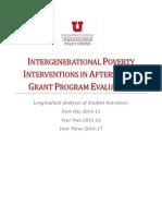 IGP Longitudinal Report