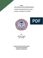 Cover Jurnal Sistem Pencernaan 2018