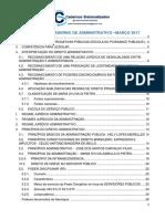 Atualização Do Caderno de Administrativo Março 2017