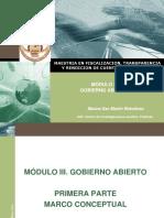 Marco Conceptual de Gobierno Abierto