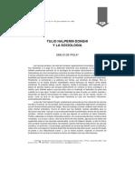Ipola - Halperin Donghi y La Sociología