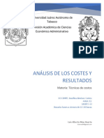Análisis de Los Costes y Resultados