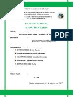 Examen Parcial de Herramientas (Aula 308)