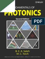 Fundamentals of Photonics - Bahaa E. A. Saleh.pdf