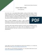 Ficha Técnia - César Debe Morir