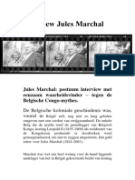 Jules Marchal Interview
