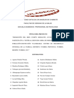 Proyecto Final de Doctrina