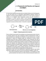 Práctica No. 3 Organometálica