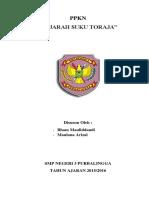 Ppkn Suku Toraja
