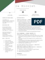 erica nicolet resume 2
