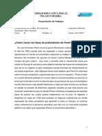 ¿Cómo nacen las ideas de justicialismo de Perón?