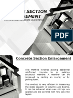 Concrete Section Enlargement