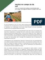 GRUPO 09_Das Transformações No Campo Às Da Sociologia Rural