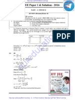 Past 10 Years IIT -JEE Solved Paper(2008-2017) year's