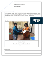 Project Fair Report Format