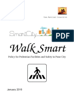 Pedestrian Policy