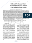 31 Cost and Benefit Analysis of Rigid and Flexible Pavement a Case Study at Chancho Derba Becho Road Project