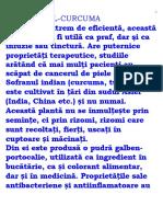 Turmericul (l)