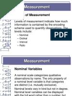 Metodologi penelitian -Measurement 1