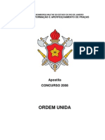 Apostila Ordem Unida CFC