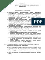 Persyaratan Registrasi Labling ISO17025 :2005