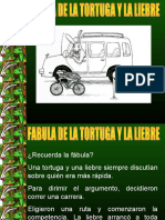 fabula La Liebre y La Tortuga