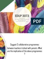Tutorial Collaborative Programmes