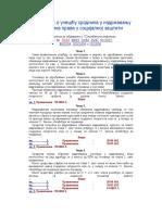 Pravilnik o Ucescu Srodnika u Izdrzavanju u Izdrzavanju Korisnika Prava u Socijalnoj Zastiti