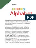 Qué Es Alphabet
