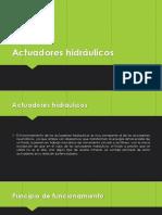 Actuadores hidráulicos