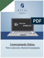 Licenciamento Online - Passo a Passo Alvar