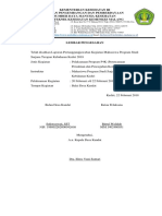 Lpj Kegiatan Pelaksanaan Program p4k (Autosaved)