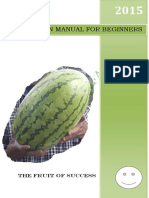 Watermelon Farrming Manual - By Kalimbini Fresh Farm Ltd