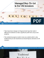 Fully-Managed Buy-To-Let Guide for UK Investors