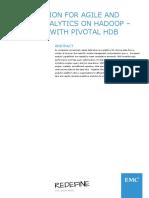 Emc Solution Agile Robust Analytics Hadoop Dl Pivotal