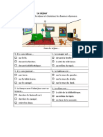 Maison Pieces Prepositions