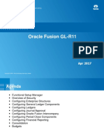 Oracle Fusion GF Implementation