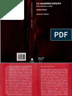 Green Andre - La Causalidad Psiquica(OCR y Opt)