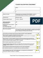 fieldtrip risk assessment barcelona 1