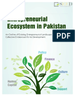 Entrepreneurial Ecosystem of Pakistan