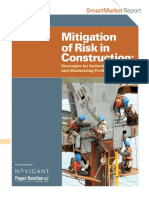Mitigation of Risk in Construction Smart Market Report - 2011