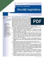 APEX Team Noutati Legislative 8 2017