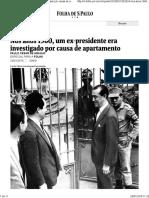 Nos Anos 1960, Ex-presidente Era Investigado Paulo Cesar de Araujo