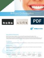 Brilliant Orthodontics - Orthodontic Material - Catalogue