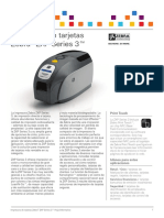 ZXP Series 3 Datasheet Spanish EMEA