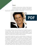 Biografía de Alejrandro Sanz