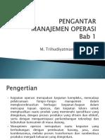 1. Pengantar Manajemen Operasional-1